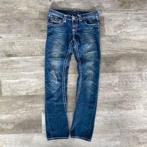 True Religion Twisted Seam Bootcut Jeans- size 30